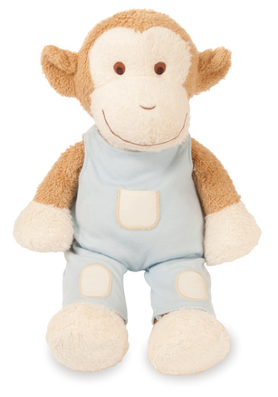 Blooming Sprouts Monkey in Blue picture