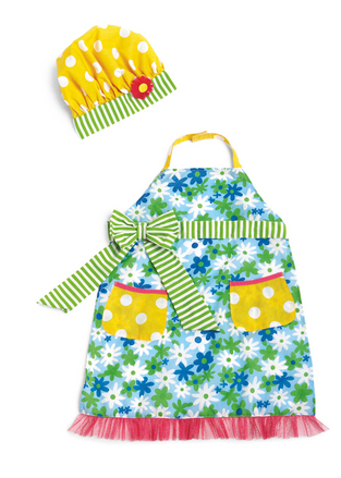 Groovy Girls Cheftastic Girl Size Apron Set picture
