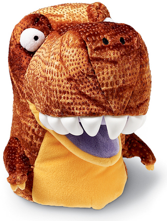 Chopper Chums Hand Puppet Ty T-Rex picture