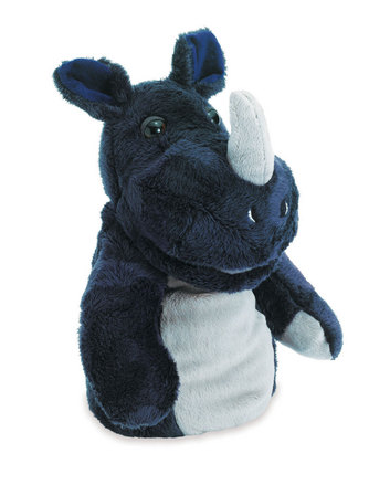 Jungle Jangles Hand Puppet Rhonan Rhino picture