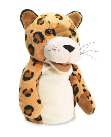 Jungle Jangles Hand Puppet Lewis Leopard picture