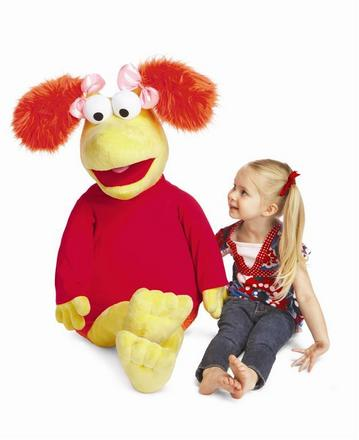 Fraggle Rock Jumbo Red