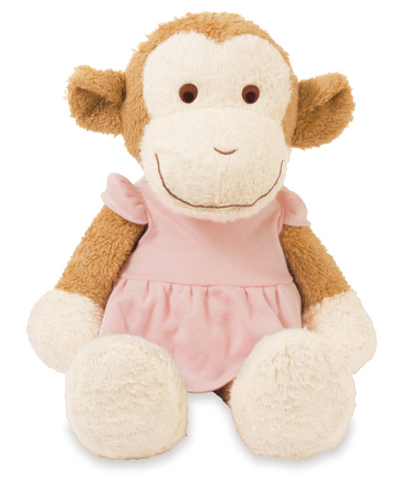 Blooming Sprouts Monkey in Pink picture