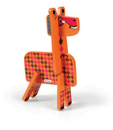 Parents Jungle Pals Giraffe Stacking Puzzle picture