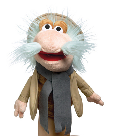 Fraggle Rock Hand Puppet Travelling Matt picture