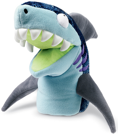 Chopper Chums Hand Puppet Shawn Shark picture