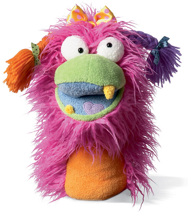 Fuzzy Wuggs Hand Puppet Girlie picture