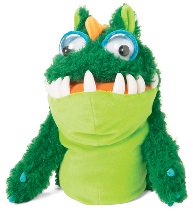 Monsties Hand Puppet Gulp picture