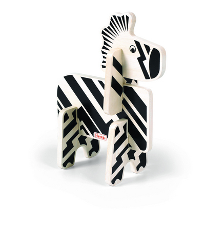 Parents Jungle Pals Zebra Stacking Puzzle