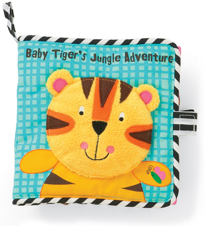 Baby Tiger's Jungle Adventure Activity Book
