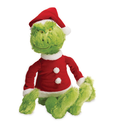 Dr. Seuss THE GRINCH In Santa Suit picture