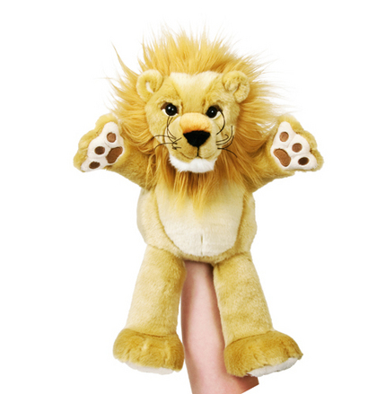 Manhattan Wildlife Collection Linden Lion Hand Puppet picture