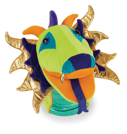 Mythical Magicals Hand Puppet Dewey