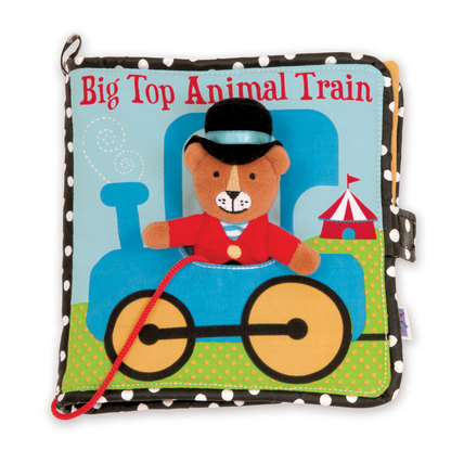 Big Top Animal Train Activity Book