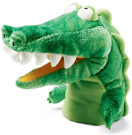 Chopper Chums Hand Puppet Gary Gator picture