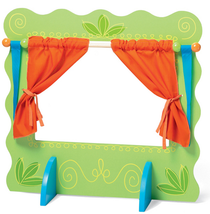 Wooden Puppet Theater picture