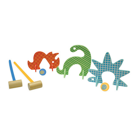 Dino Club Croquet Set