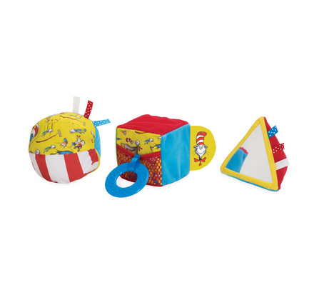 Dr. Seuss THE CAT IN THE HAT Shape Set