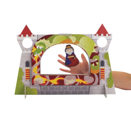 Royal Court Castle Finger Puppet Theater picture