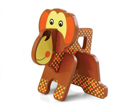 Parents Monkey Stacking Puzzle picture