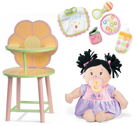 Baby Stella Mealtime Gift Set picture
