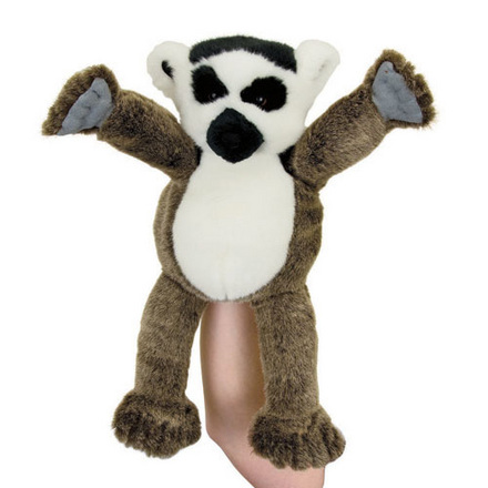 Manhattan Wildlife Collection Hand Puppet Leala Lemur picture