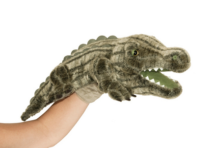 Manhattan Wildlife Collection Hand Puppet Avi Alligator picture