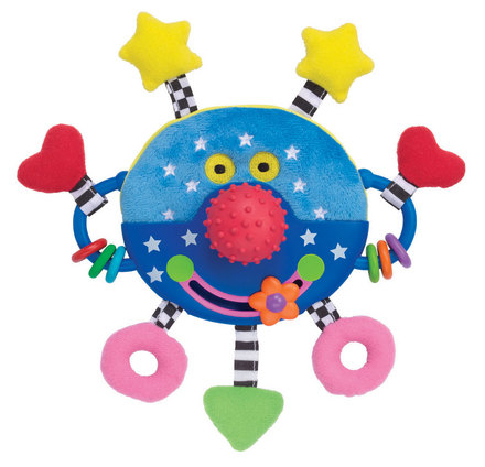 Whoozit Happy Face Rattle