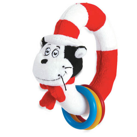 Dr. Seuss THE CAT IN THE HAT Take & Shake Ring picture