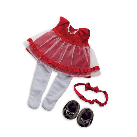Baby Stella Fanciful Frills Holiday Outfit picture
