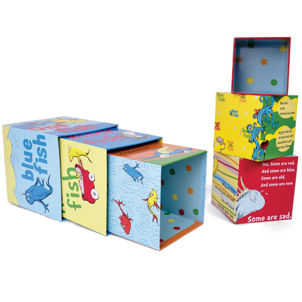 Dr. Seuss ONE FISH Stacking Blocks picture