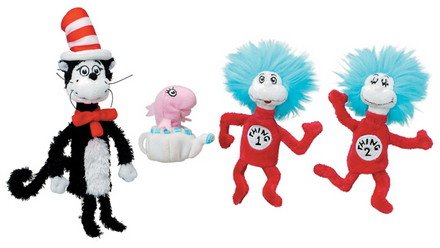 Dr. Seuss CAT IN THE HAT Boxed Set picture