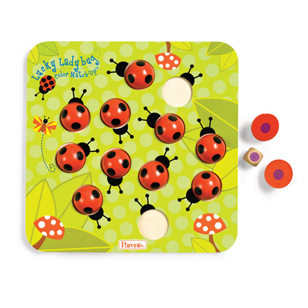 Parents Lucky Ladybug Color Match-Up picture