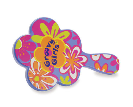 Groovy Girls Child Size Best Tressed Mirror (Purple Floral)