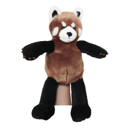 Manhattan Wildlife Collection Hand Puppet Rico Red Panda picture
