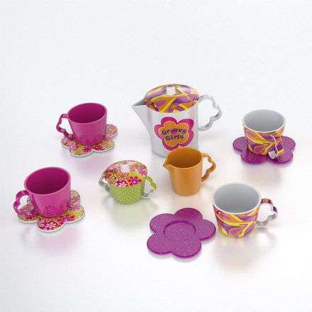 Groovy Girls Child Size Tea-rific Tea Set picture