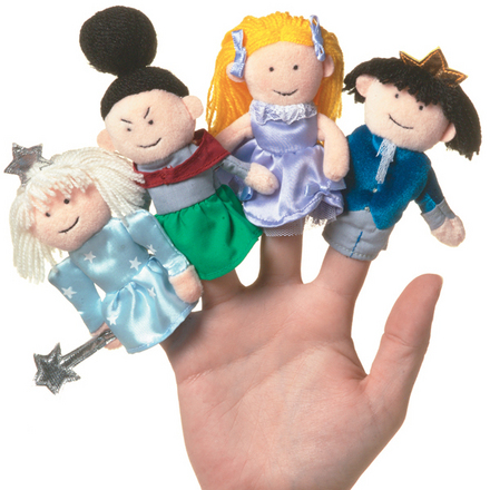 Cinderella Boxed Finger Puppet Set