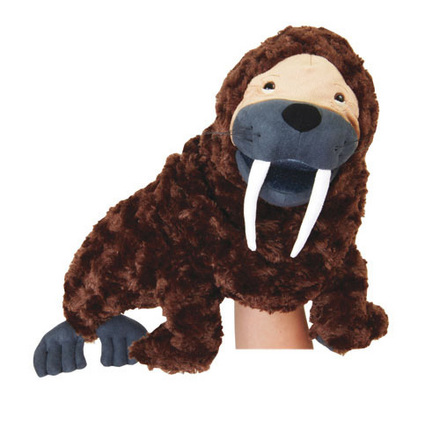 Manhattan Wildlife Collection Hand Puppet Warren Walrus picture