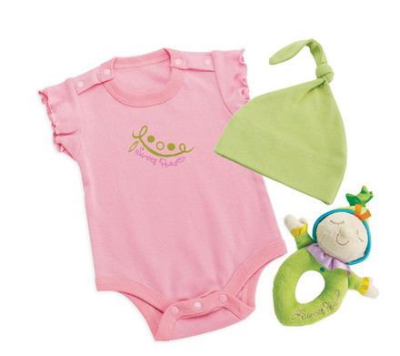 Snuggle Pods Sweet Pea Onesie Gift Set picture