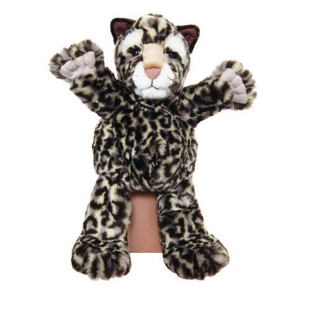 Manhattan Wildlife Collection Hand Puppet Leeann Leopard picture