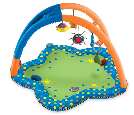 Whoozit Tummy Time Arches Playmat picture