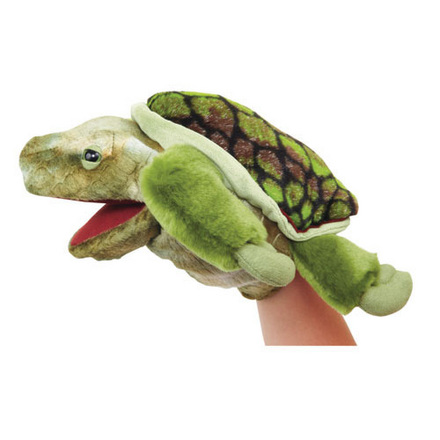 Manhattan Wildlife Collection Hand Puppet Laszlo Loggerhead Sea Turtle picture