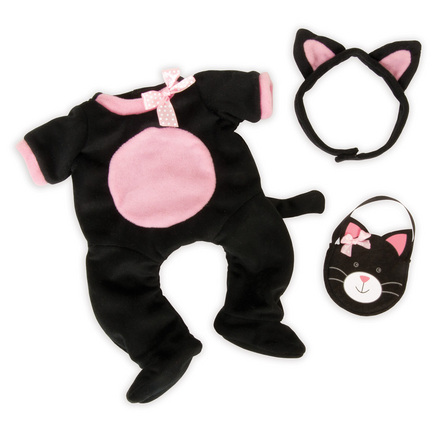 Baby Stella Dress Up Kitty Outfit