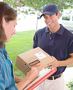 REQUIRE a SIGNATURE for package delivery picture