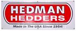 Hedman Hedders Vinyl Display Banner- 2ft. x 5ft