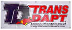 Trans-Dapt Performance Products Vinyl Display Banner- 2ft. x 5ft.