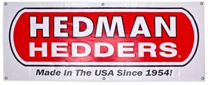 Hedman Hedders Vinyl Display Banner- 2ft. x 5ft picture