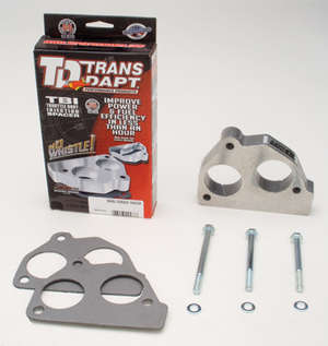 86-91 GM Truck/SUV w/4.3L V6, 5.0L,5.7L V8- SWIRL-TORQUE Throttle Body Spacer picture