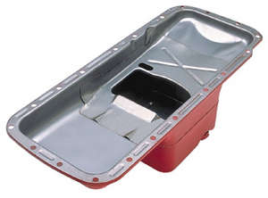 "STREET PERFORMANCE Oil Pan; Chrysler 361-440 and 426 HEMI; 7 Qt.; 7"" Center Sump picture"