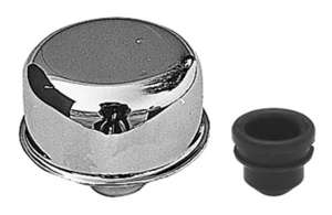 "2-3/4"" Diameter ""PUSH-IN"" Style Breather Cap (Includes Grommet)- CHROME picture"